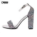 Elegant glitter woman sandals for hot-selling PL1828