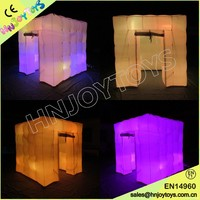 Inflatable Tent With Led Light / Inflatable Led Cube / Led Inflatable Photo Booth