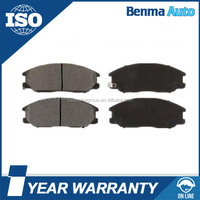 Auto Spare Parts Wholesale Price Genuine Korean Car Front Disc Brake Pads Manufacturers 58101-1MA00 D1397-8505