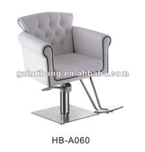 luxury salon white stying chair barber chair for sale HB-A060