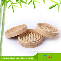 Cheap Portable Carbide commercial Bamboo Food Steamer Basket