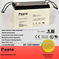 12V 100Ah Lead Acid SLA VRLA Gel Solar PV UPS Battery low price