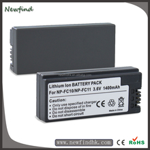 Replacement 3.6V 1400mAh Battery Pack for Sony Digital Camera NP-FC10 NP-FC11