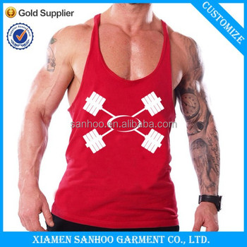 Your Brand Label GYM Tank Top Wholesale Men