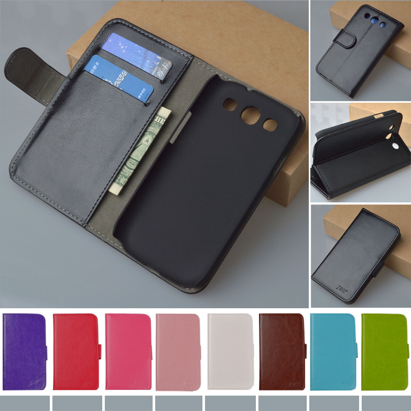 Original J&R Brand High Quality Flip Pouch Leather Cover For Samsung Galaxy S3 i9300 S III Case Classic Design