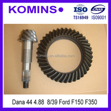D44 4.88 8/39 Truck Differential Crown wheel pinion for ford F350