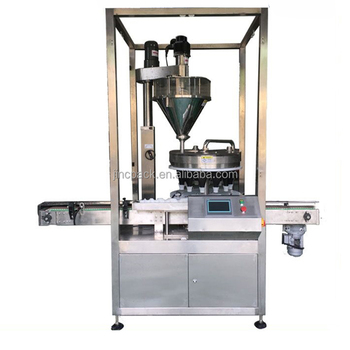Bottle can packing machine spices powder filling packing machine