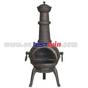 Casting iron chimineas
