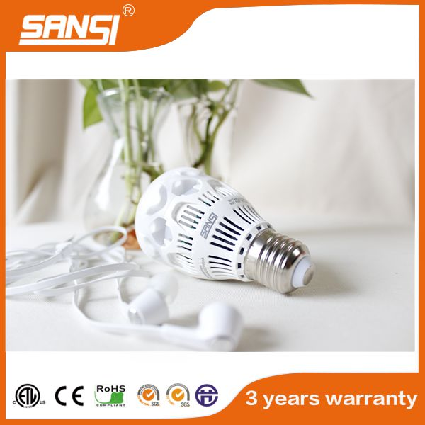 wireless ul listed smart wifi music rgb white led bulb lamp
