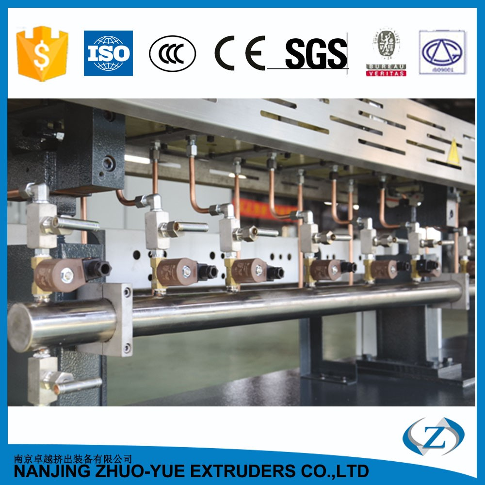 HTE Extruder plastic abs pp pellets melting machine