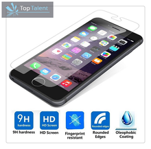 Wholesale mobile phone protective film tempered glass screen protector for iphone6 screen protector for iphone