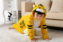 kids winter pyjamas with flannel set for tiger cosplay costumes