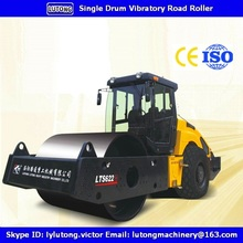 LTS620H 20Ton Hydraulic Single Drive Single Drum Vibratory Road Roller