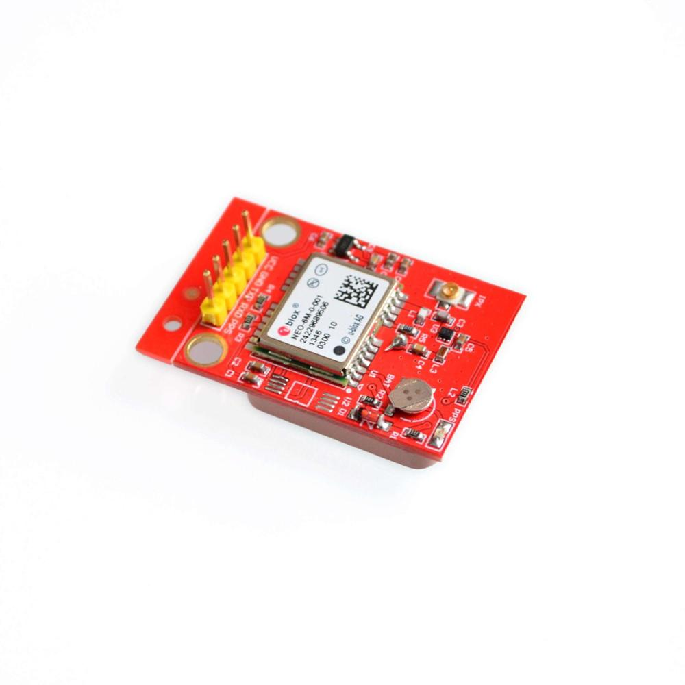GPS Receiver U-blox NEO-6M Module with Ceramic Antenna TTL Interface for raspberry pi 2