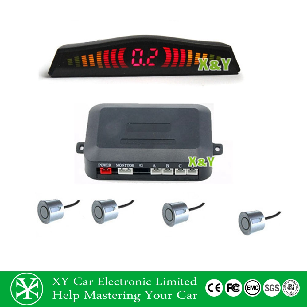 wireless Parking sensor system , led monitor car parking alarm,car radar parking sensor XY-5304-W