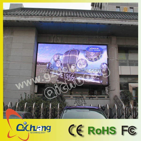 Qichuang indoor P4 P5 P6 P8 P10 outdoor P8 P10 P12 P16 P20 P25 P31.35 LED display