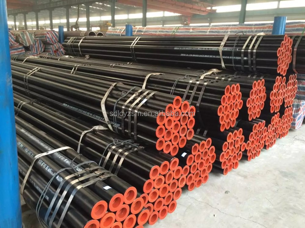 Hot sale cold drawn DIN 1629 St52.4 seamless carbon steel pipe