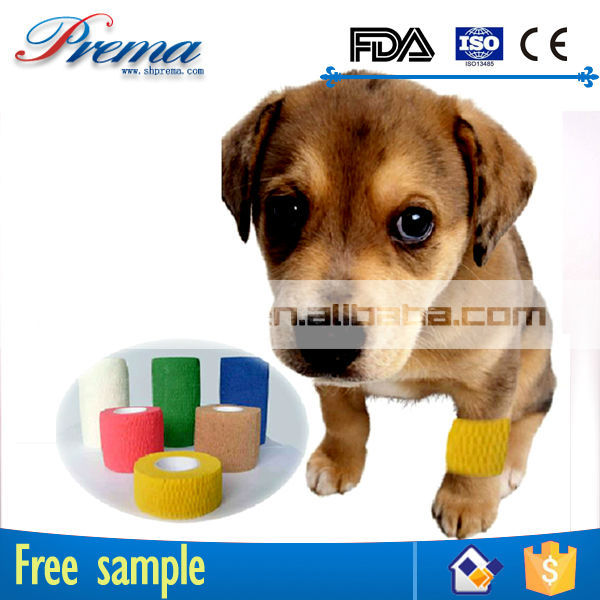 High Elastic Ratio Non-woven Elastic Medical Cohesive Bandage brand names adhesive tape .