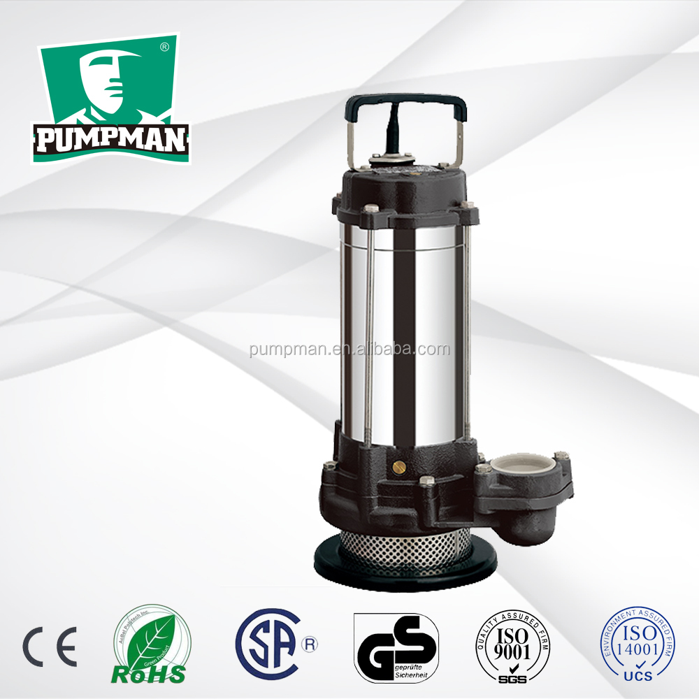 QDX-S 2015 PUMPMAN new good quality cheap 1hp domestic electric centrifugal float switch submersible pump