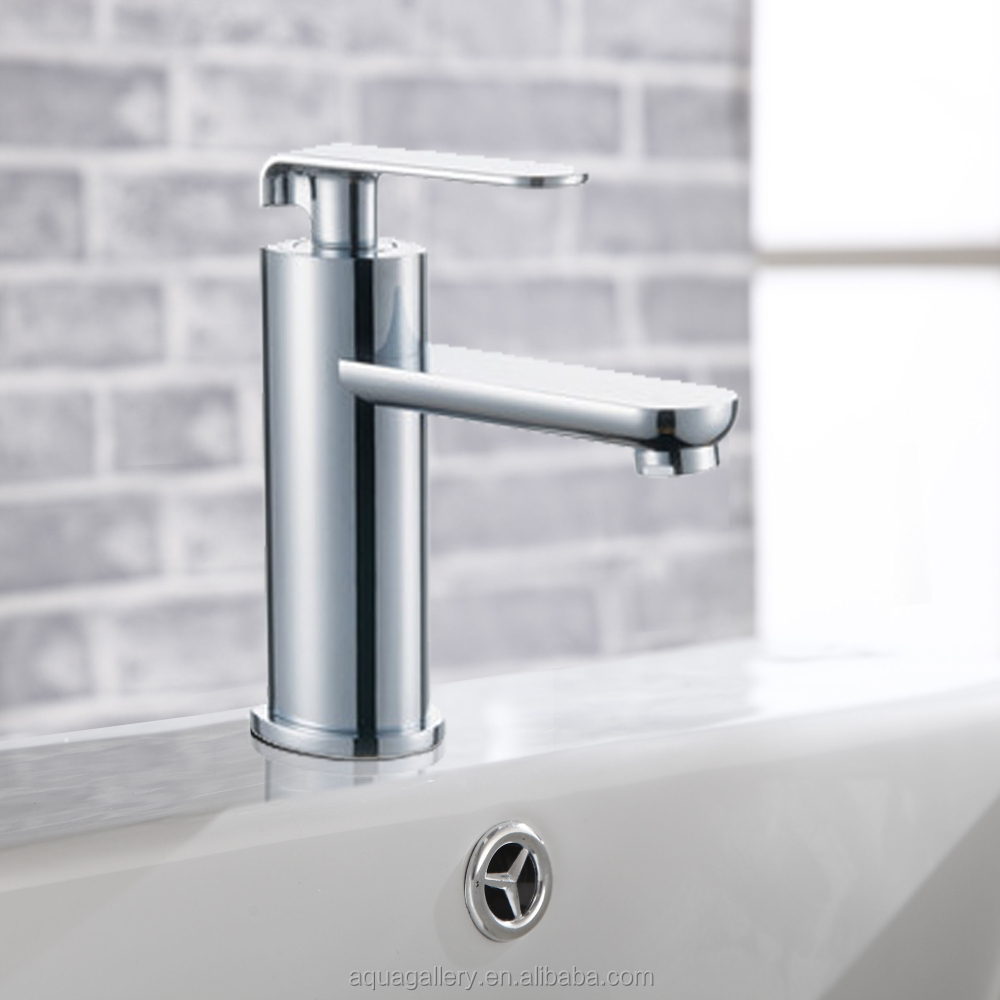 Single Lever Deck Mounted CE Basin Mixer Taps