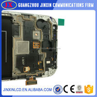 For Samsung for Galaxy S4 Active i9295 i537 Grey LCD Touch Screen with Digitizer Assembly , free shipping!!