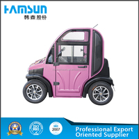 Mini electric tourist car with 2 seater for sale