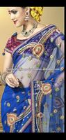 Exclusive Banarasi Silk designer Net Saree