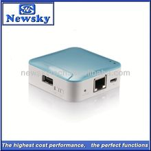 1800mah pocket wifi repeater pocket 3g router