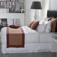 Comfortable best full size hotel bed linens sets 600tc,hotel linen 4pcs bed sheet 1000 thread count