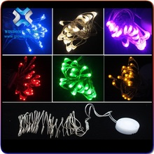 2016 top sale Walking stick shaped LED fairy string light for Christmas decoration,led copper string light
