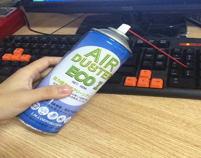Compressed Air Duster Cleaner Can Canned Laptop Keyboard On Sale