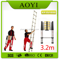 First classic ladders a fram aluminum telescopic ladder en131 step stool