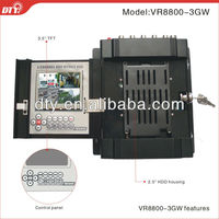 4ch car mobile dvr with 3G GPS WIFI and G-sensor mobile phone view function