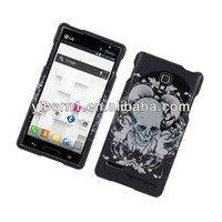 Skull With Angel Snap-On Cover Case for LG Optimus L9 P769 MS769