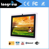 7 Inch cheap china android tablet Quad core A33 Action 7031 Action 7029 q88 tablet pc