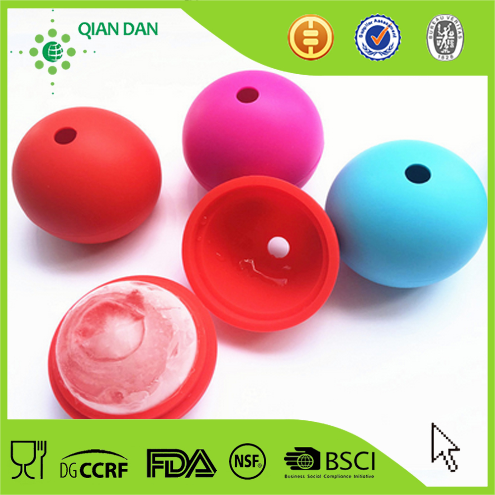 silicone ice ball molds for cocktail with different size