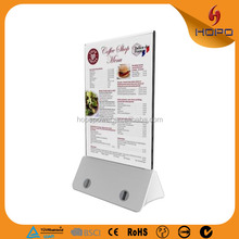 hot new products 2016 restaurant cell phone charging station menu holder power bank