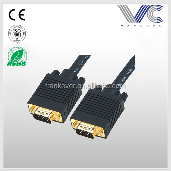 VGA cable HD15pin Male to Male