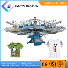 customized supplier slap-up second hand screen printing machine