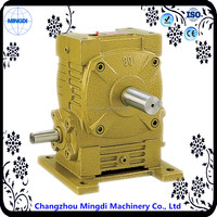 WPX Series Cast Iron Double Worm Gearbox Speed Reducer Transmission Parts with Electric Motor motorcycle spare part