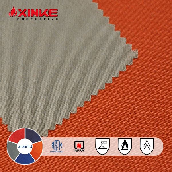 Permanent 180g aramid flame retardant fabric