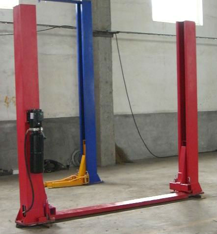 Hydraulic Two Post Car Lifting Rolling Jack