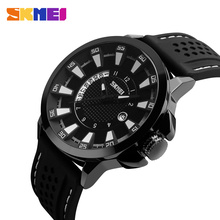 unisex thin silicone band sports wrist watch waterproof 9152