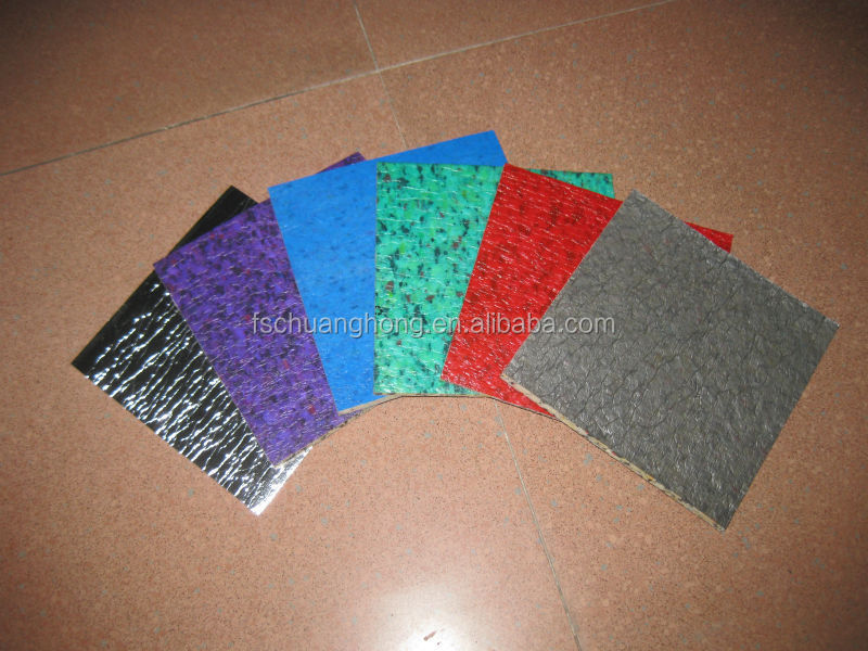 PE lamination PU Foam Carpet Underlay