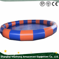 Competitive Price giant inflatable pool rental, adult swimming pool