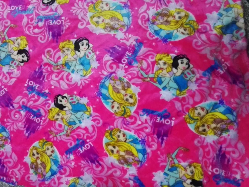 Anti Aging 100% Polyester Custom Flannel Fabric Printing For dolls