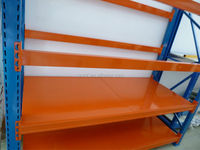 high quality metal powder coating warehouse shelves and pallet rack