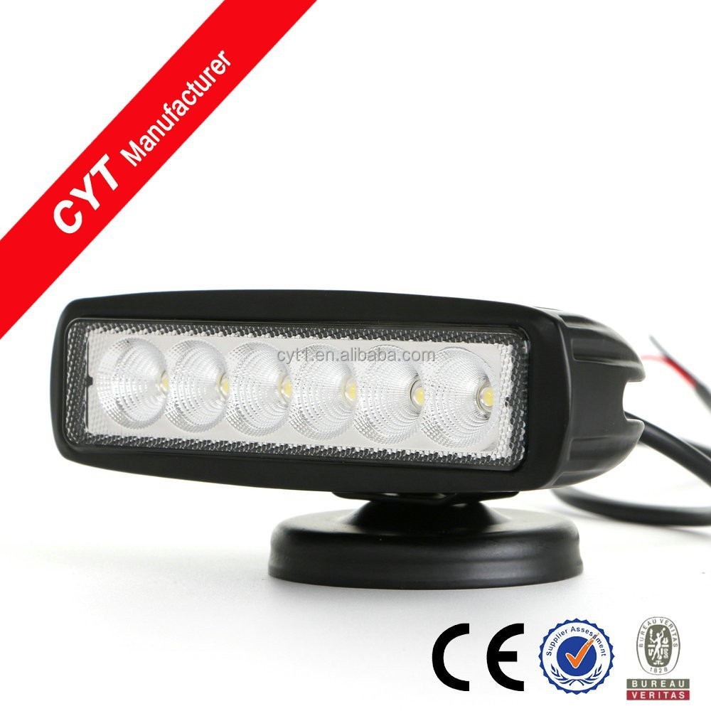 18W Led Work Light Car Off Road Led Bar Light