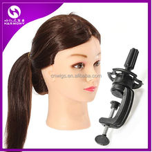 Training Head Wig Stand Holder Mannequin Head Clamp for Manik hair Training model hairdressers salon styling tools