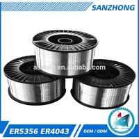 aluminum alloy wellding consumables er5356 aluminum wlding rod solder welding electrode aluminum wire 2mm with low price